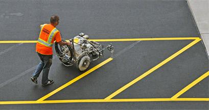 Parking Lot Sanding/Detailing 2